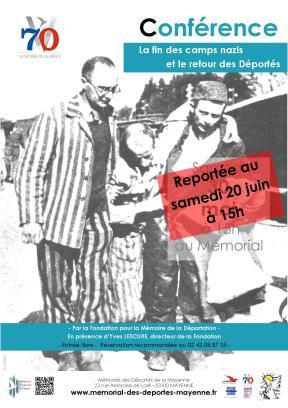 affiche conférence fmd 30 05 2015 amd mémorial reportée  20 06