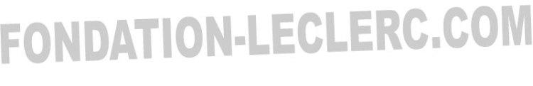 Fondation leclerc