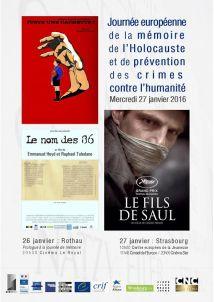 Affiche_Journée européenne Holocauste